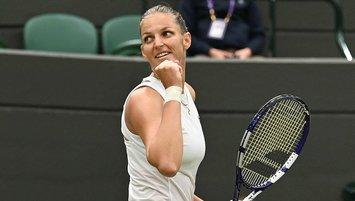 Wimbledon kadınlarda ilk yarı finalist belli oldu!