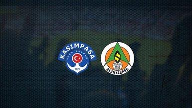 Kasımpaşa-Alanyaspor maçı CANLI
