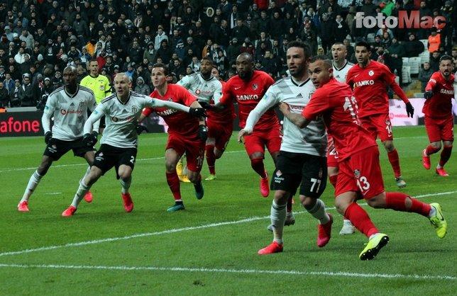 Beşiktaş - Gaziantep FK maçından kareler