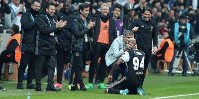 Beşiktaş, Vodafone Arena'da coşuyor