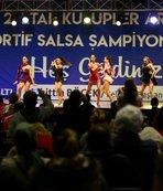 Salsa Ligi 2. Etap yarışması Antalya'da yapıldı
