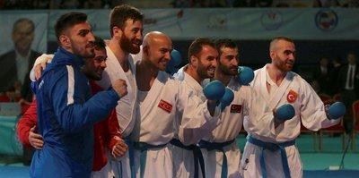 Karate'de tarihi başarı!