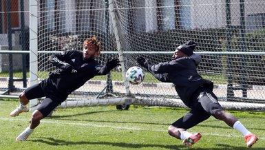 Son dakika spor haberi: Beşiktaş Yeni Malatyaspor maçı hazırlıklarına devam etti! Rosier ve N'Koudou...