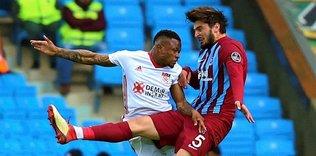 Trabzonspor'un savunması düştü