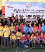 Çocuk Atletizmi Projesi devam ediyor