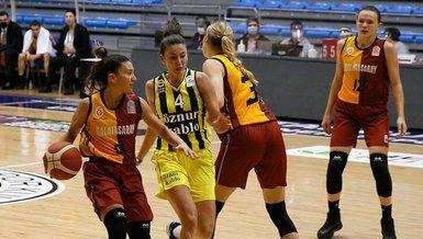 FIBA Kadınlar Avrupa Ligi'ndeki Fenerbahçe-Galatasaray derbisi İspanya'da oynanacak