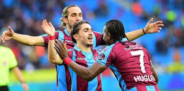 En anlamlı liderlik! Trabzonspor fark yarattı...