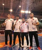 Avrupa Yıldızlar Güreş Şampiyonası'nda 3. olduk