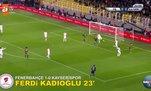 Ziraat Türkiye Kupası son 16 turu rövanşmaçlarında atılan tüm goller