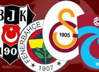 Beşiktaş, Fenerbahçe, Galatasaray ve Trabzonspor'da büyük değişim! 4 büyükler kendilerine rakip olunca...