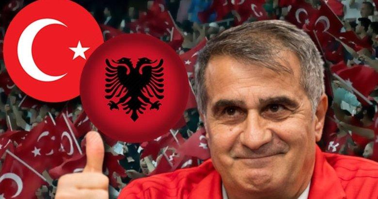 Şenol Güneş'ten sürpriz karar! İlk 11'de...   A Milli Takım - Arnavutluk maçı haberleri