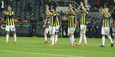 Fenerbahçe son 4 maçını kazandı!