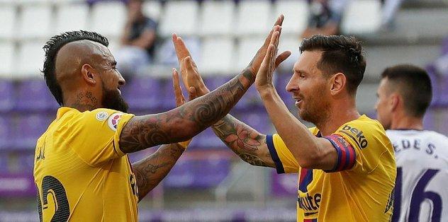 Real Valladolid 0-1 Barcelona | MAÇ SONUCU - öne çıkan -