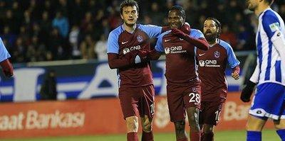 Trabzonspor kazanmaya alıştı