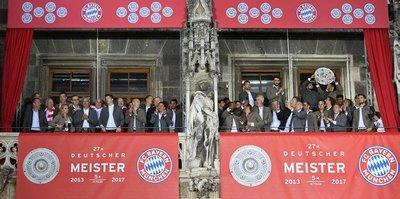 Bayern üst üste 5. kez şampiyon
