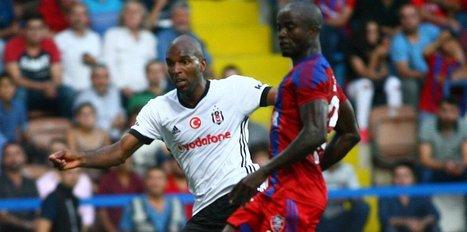 Beşiktaş deplasmanda 10 kişiyle kazandı