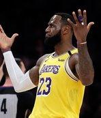 NBA yıldızı LaBron James çılgına döndü!
