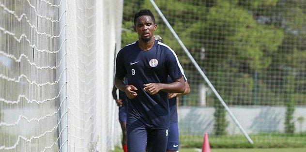 Antalyaspor'da Eto'o ayrılıyor mu?