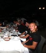 Beşiktaş camiası yemekte buluştu