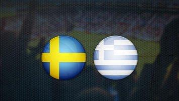 İsveç - Yunanistan maçı saat kaçta? Hangi kanalda?