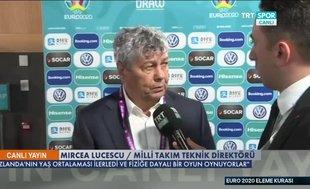 Mircea Lucescu'dan EURO 2020 yorumu