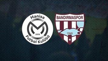 Manisa FK - Bandırmaspor maçı ne zaman?