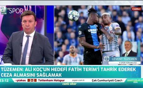 """""""Ali Koç'un hedefi Fatih Terim'i tahrik etmek"""""""