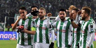 Alkışlar Konyaspor'a