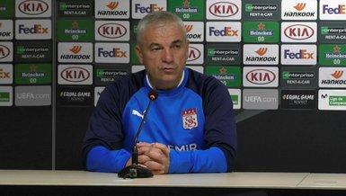 Sivasspor Teknik Direktörü Rıza Çalımbay: Villarreal maçı bizim için milli maç gibi!