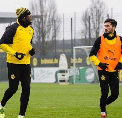 Usain Bolt Dortmund idmanında