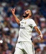 Real Madridli Benzema sakatlandı
