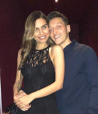 Mesut Özil'den yeni doğum yapan eşine 80 milyon TL'lik hediye