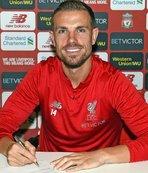 Liverpool, Henderson'ın sözleşmesini uzattı