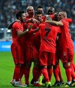 Beşiktaş dört dörtlük!