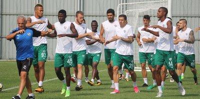 Bursaspor'da Başakşehir hazırlıkları