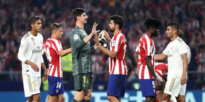 MAÇ SONUCU Atletico Madrid 0-0 Real Madrid | ÖZET