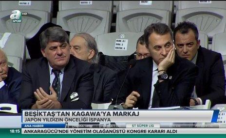 Beşiktaş'tan Kagawa'ya markaj