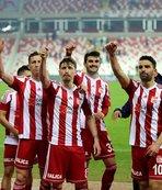 Sivasspor iç saha serisini 9 maça yükseltti