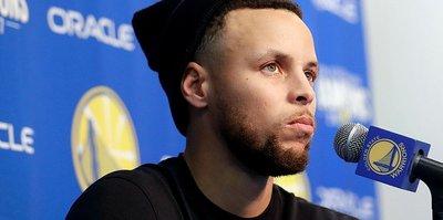 Golden State'e Curry şoku!