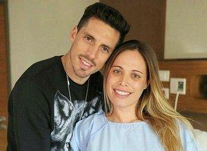 Jose Sosa'nın eşi Trabzon'dan ayrıldı