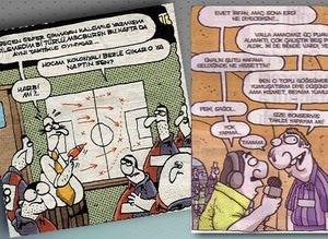Futbol Karikatürleri Fotomaç