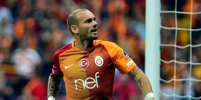 G.Saray resmen açıkladı: Sneijder...