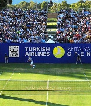 Turkish Airlines Antalya Open'ın açılış töreni Aspendos'ta gerçekleşti