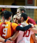 Galatasaray Erkek Voleybol Takımı Hırvatistan deplasmanında