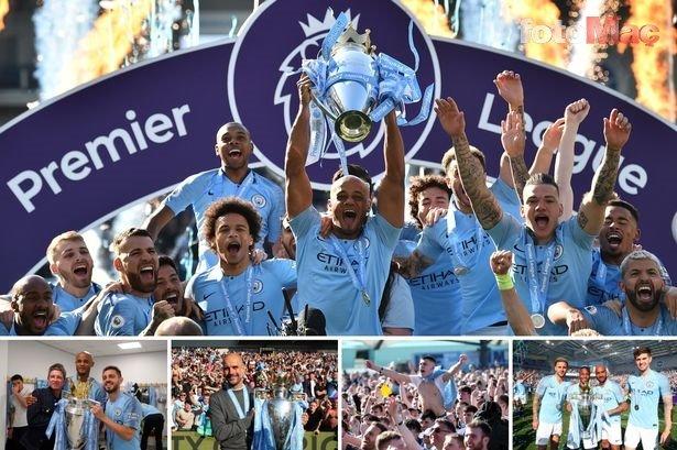 Şampiyon Manchester City'e tarihi şok! UEFA'dan men...