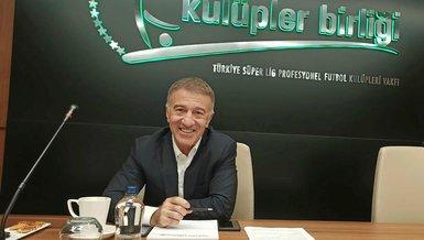 Son dakika transfer haberleri: Trabzonspor Başkanı Ahmet Ağaoğlu: İleriye dönük olarak da yerli oyuncu transferi gerçekleşebilir