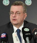 Almanya Futbol Federasyonu'nda istifa