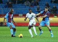 Trabzonspor - Denizlispor maçından kareler...