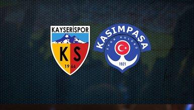 Kayserispor - Kasımpaşa maçı CANLI