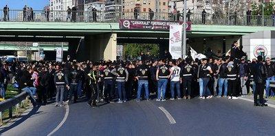 Fenerbahçe-Beşiktaş maçı öncesi Beşiktaşlı taraftarlar gözaltına alındı